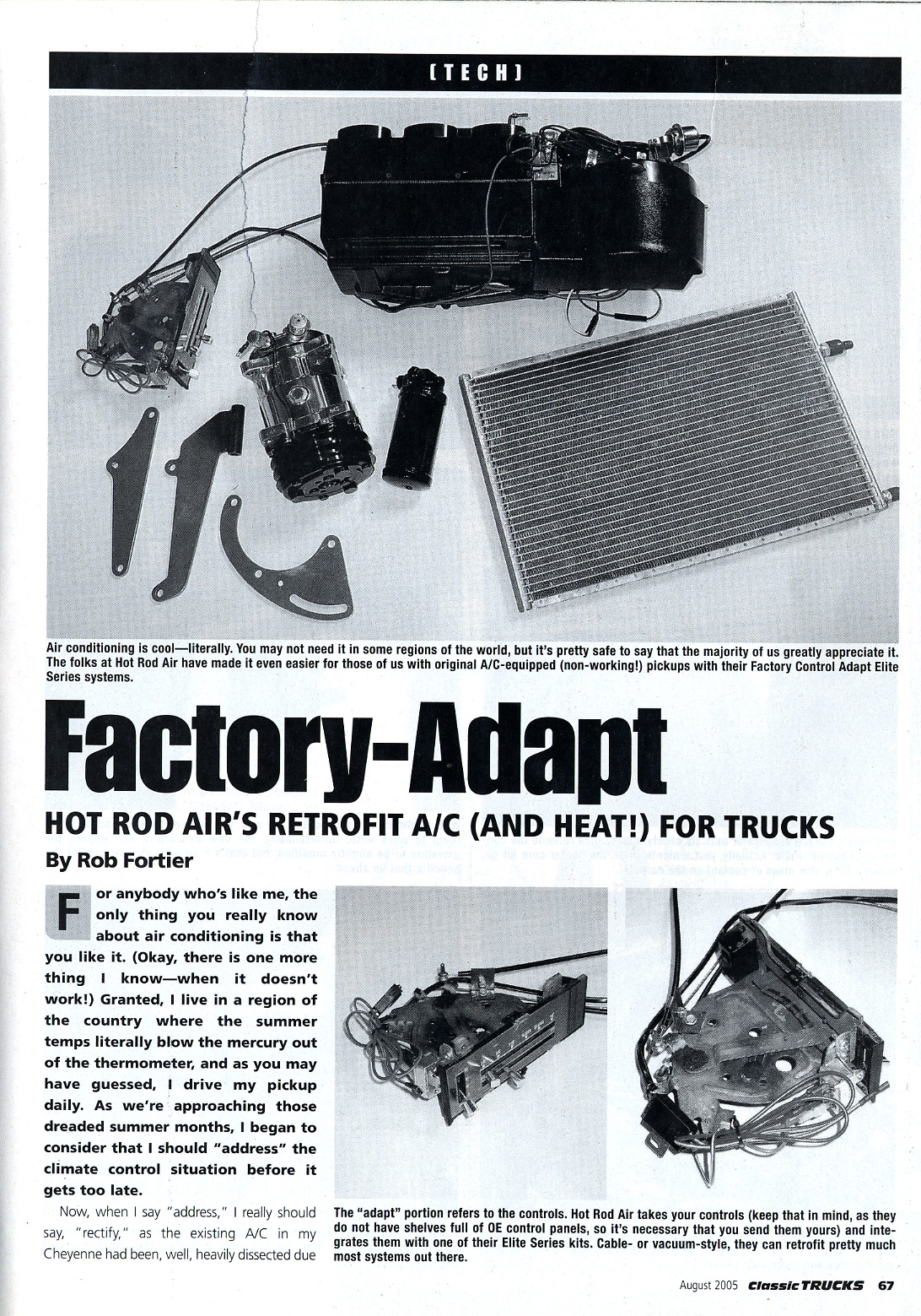 aftermarket air conditioning - classic trucks