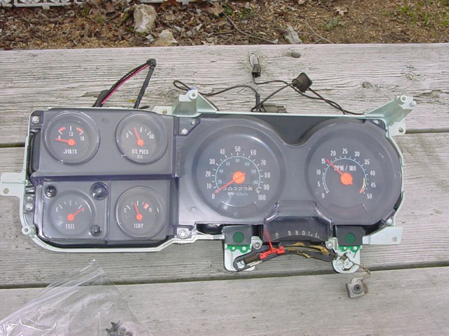 7387 Factory Tachometer Info. Chevrolet. 1973 Chevrolet K10 Wiring At Scoala.co
