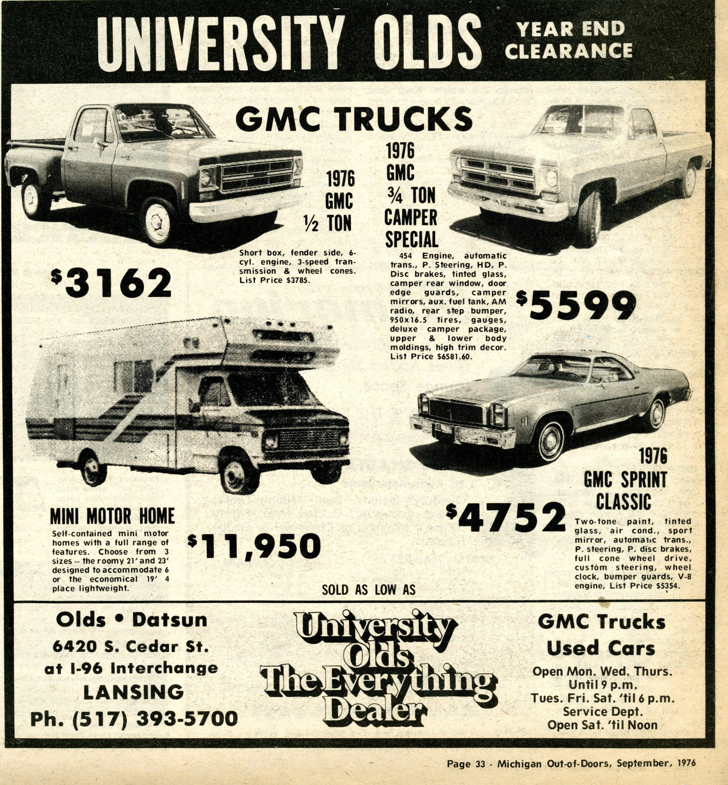 Dedicated To 73 87 Full Size Gm Trucks Suburbans And 1976 Chevy 4x4 3 4 Ton American Coach Corporation Built These There Were Three Different Levels Of Amarillo You Could Choose From Check Out The Armarillo Page For