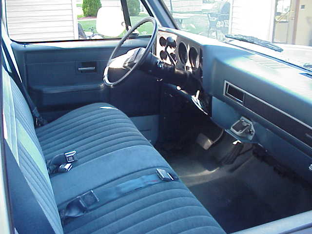 73 87 Chevy Truck Interior Pictures To Pin On Pinterest