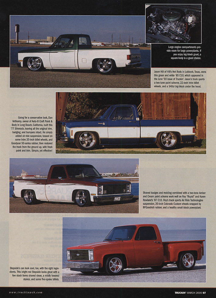 Truckin' Magazine Article