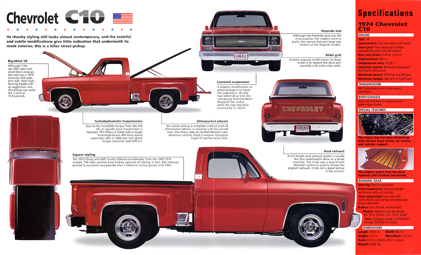 All Chevy 74 chevy short bed : hot_haulers02.jpg 1,452×878 pixeles | Chevy | Pinterest ...